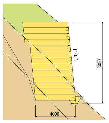網型の施工実績6 図
